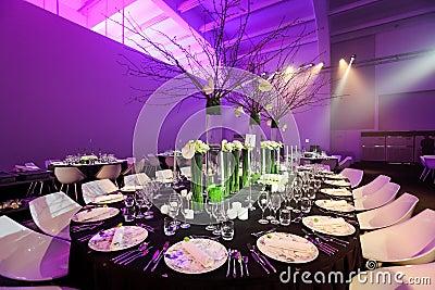 Ślubny stół