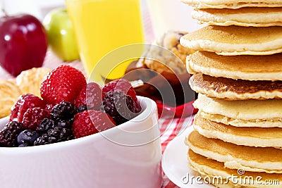 śniadaniowy blin
