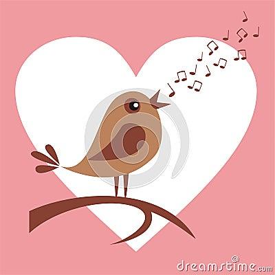 Śpiewacki ptak