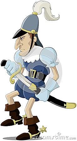 średniowieczny żołnierz