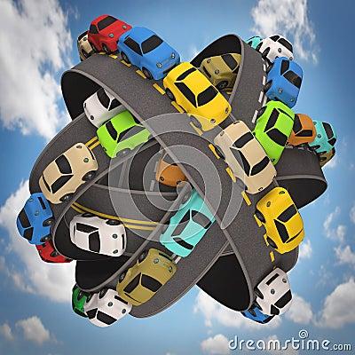 Światowy ruchu drogowego dżem