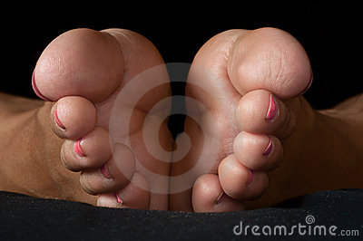żeńscy nożni palec u nogi