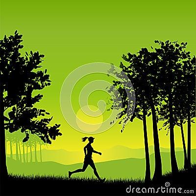 żeński jogger