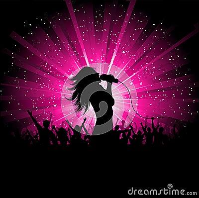 żeński piosenkarz