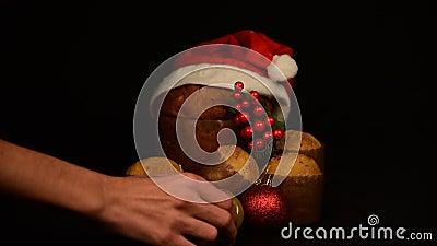 Żywność świąteczna i skład ozdobny nadal żyją zbiory