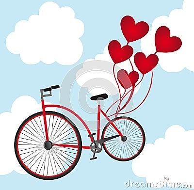 自行车比赛卡通图片