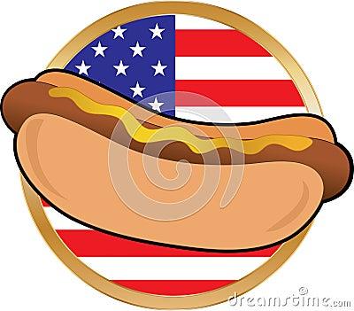 热美国的标志