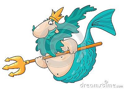 人鱼 免版税库存照片 图片