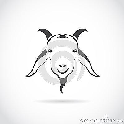 山羊头的传染媒介图象