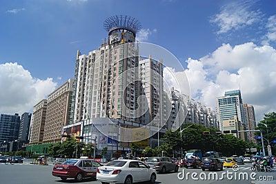 深圳南山蛇口風景區,城市道路風景