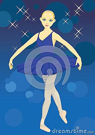 跳芭蕾舞者 免版税图库摄影图片