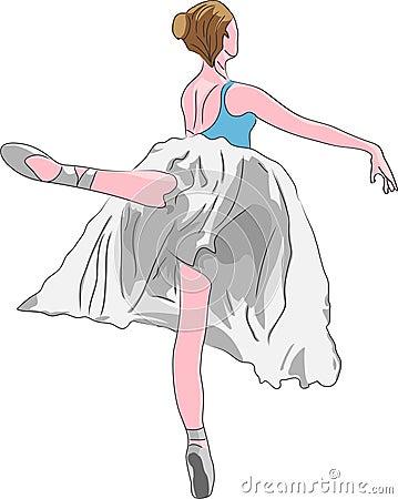 跳芭蕾舞者 库存照片 图片