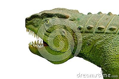 Άγριο αρπακτικό ζώο Postozuh archosaur