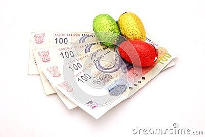 άκρες αυγών σοκολάτας