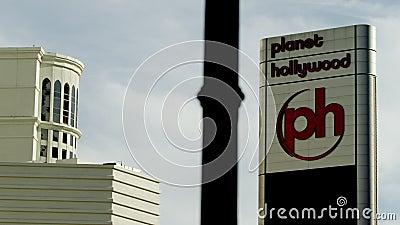 Άποψη σχετικά με το κτήριο Hollywood πλανητών φιλμ μικρού μήκους