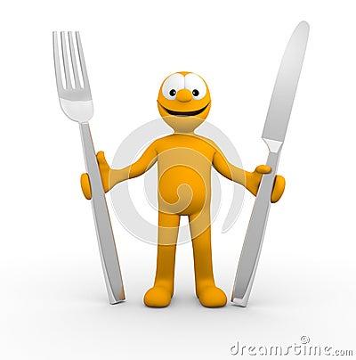 Έτοιμος να φάει