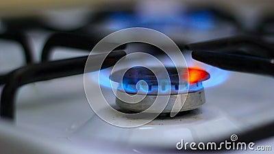 Αέριο Methan απόθεμα βίντεο