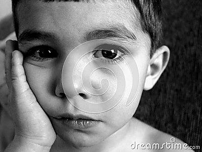 αγόρι λίγα λυπημένα