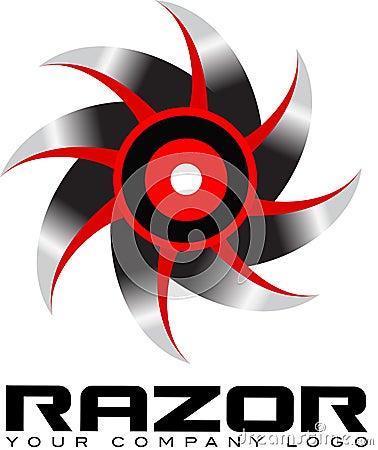 Αιχμηρό λογότυπο πριονιών