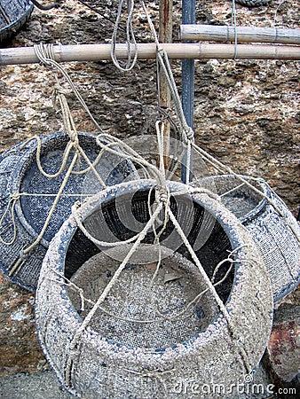 αλιεία καλαθιών