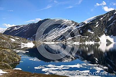 αντανάκλαση της Νορβηγία&sig