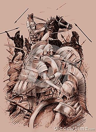 αρχαία μάχη
