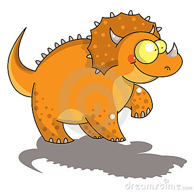 αστεία triceratops