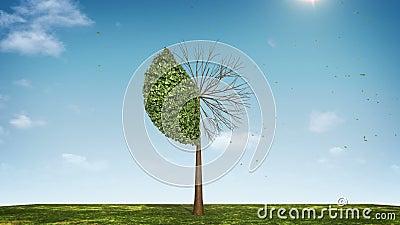 Αυξηθείτε το διάγραμμα πιτών μορφής δέντρων υποδειγμένος 40 percents πράσινο εικονίδιο διανυσματική απεικόνιση