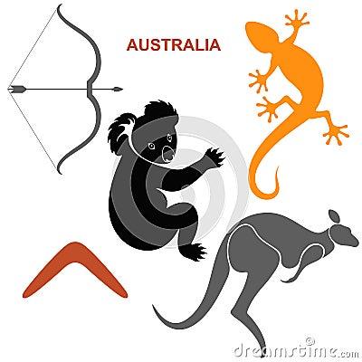 Αυστραλιανά σύμβολα