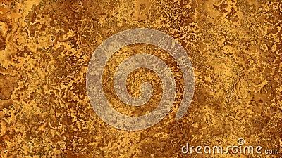 Αφηρημένη εικόνα κινούμενης εικόνας με υφή υγρού χρυσού απόθεμα βίντεο