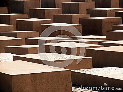 αφηρημένοι κύβοι τσιμέντου