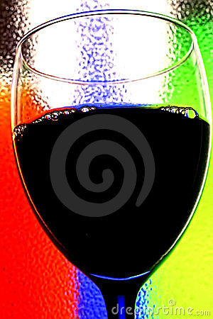 αφηρημένο κρασί ανασκόπηση&s