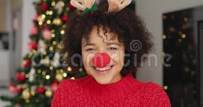 Αφρικανή στα Χριστούγεννα φιλμ μικρού μήκους