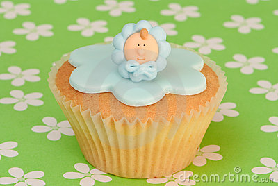 βάπτισμα μωρών cupcake
