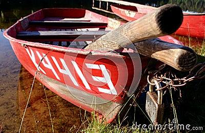 βάρκα ΙΙΙ που κλειδώνετ&alph