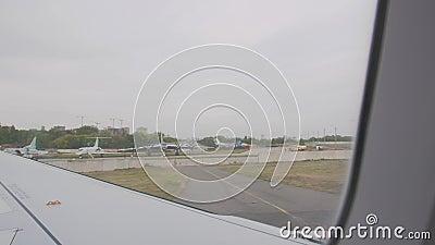 Βάση Του Αερολιμένα Αεροσκαφών απόθεμα βίντεο