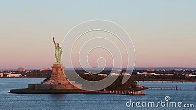 Βίντεο βράσης του αγάλματος της ελευθερίας απόθεμα βίντεο