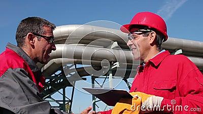Βιομηχανικές Workes και σωληνώσεις φιλμ μικρού μήκους