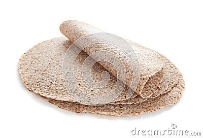 Βλαστημένα tortillas σίτου