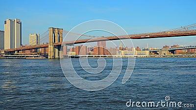 γέφυρα Μπρούκλιν Νέα Υόρκη Μανχάτταν nyc κράτη που ενώνονται φιλμ μικρού μήκους