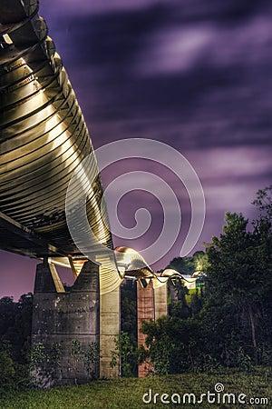 Γέφυρα στη Σιγκαπούρη: Κύματα Henderson