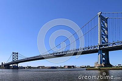 Γέφυρα Φιλαδέλφεια Πενσυλβανία του Benjamin Franklin