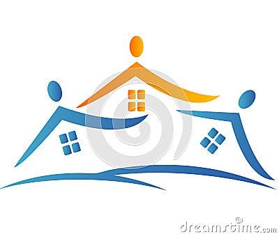 γειτονιά λογότυπων σπιτ&iota