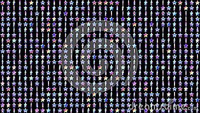 Γεωμετρικός περιτυλίχτηκε σχέδιο με τα περιστρεφόμενα ολογραφικά αστέρια για το αφηρημένο σύγχρονο υπόβαθρο disco r ελεύθερη απεικόνιση δικαιώματος