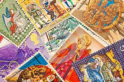 γραμματόσημα Χριστουγένν&ome
