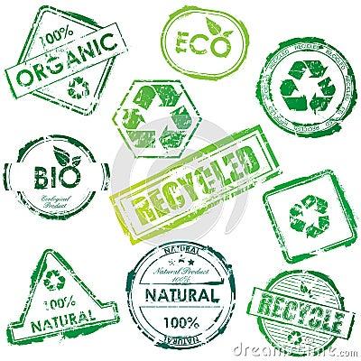 γραμματόσημα eco