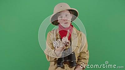 Γυναίκα Εξερευνητής Αρ. Με Δάχτυλο φιλμ μικρού μήκους