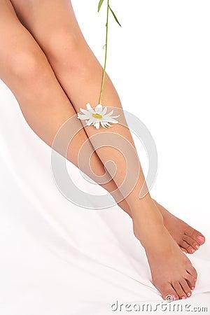 γυναίκα ποδιών