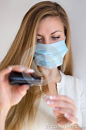 Γυναίκα στη μάσκα