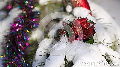 Διακοσμήσεις Χριστουγέννων στο χριστουγεννιάτικο δέντρο φιλμ μικρού μήκους
